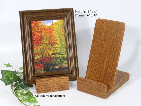 Display Stand 35 X 85 55 X 9 Autumn Blush Stain Etsy