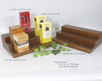Product Display Stand, Retail Display, Trade Show Booth, Conventions Display, Wood Countertop Stand, Exhibition Display