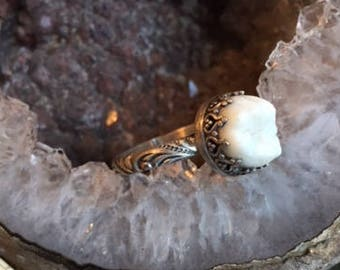 ONE OF A KIND Sterling Silver Tooth Fairy Ring