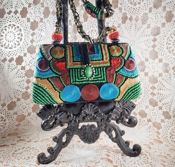 Mary Frances Hand Bag