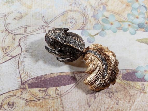 Hattie Carnegie Skunk Brooch