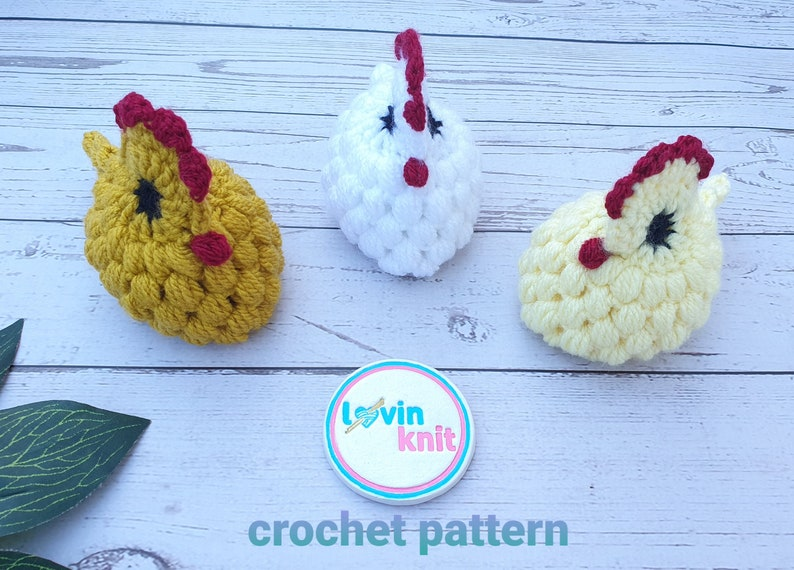 Easter Chick Chocolate Egg Cover Crochet Pattern  Crochet image 1