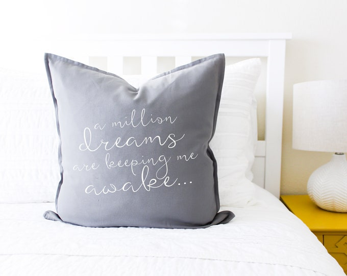 "The Greatest Showman ""A Million Dreams"" Pillow Cover"