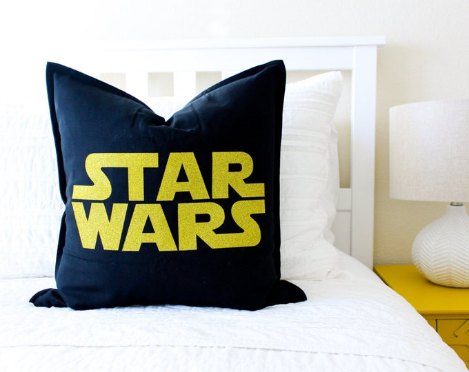 Star Wars Logo Pillow Cover