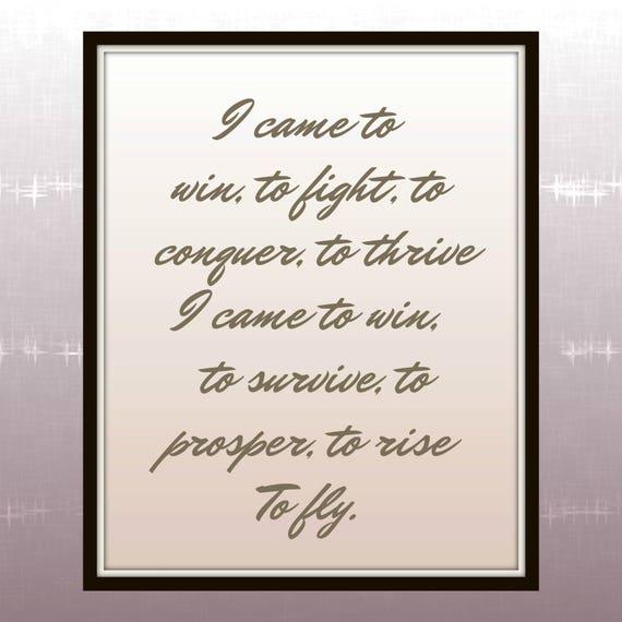 I came to win rihanna