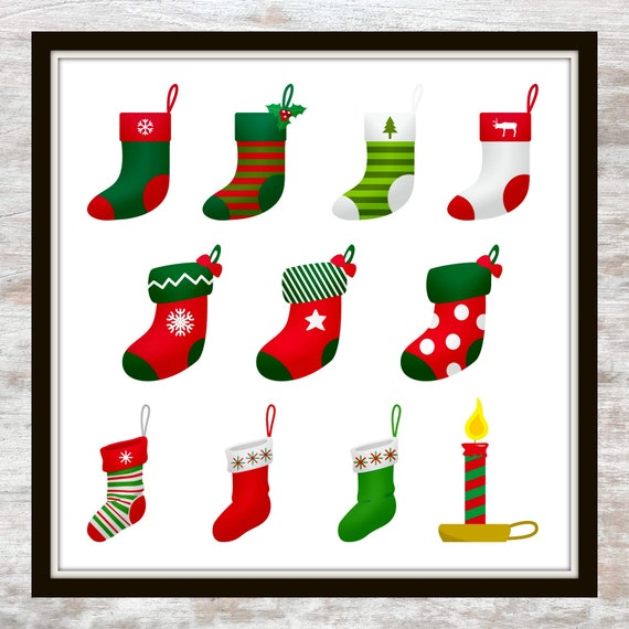 This is an image of Printable Stocking within craft