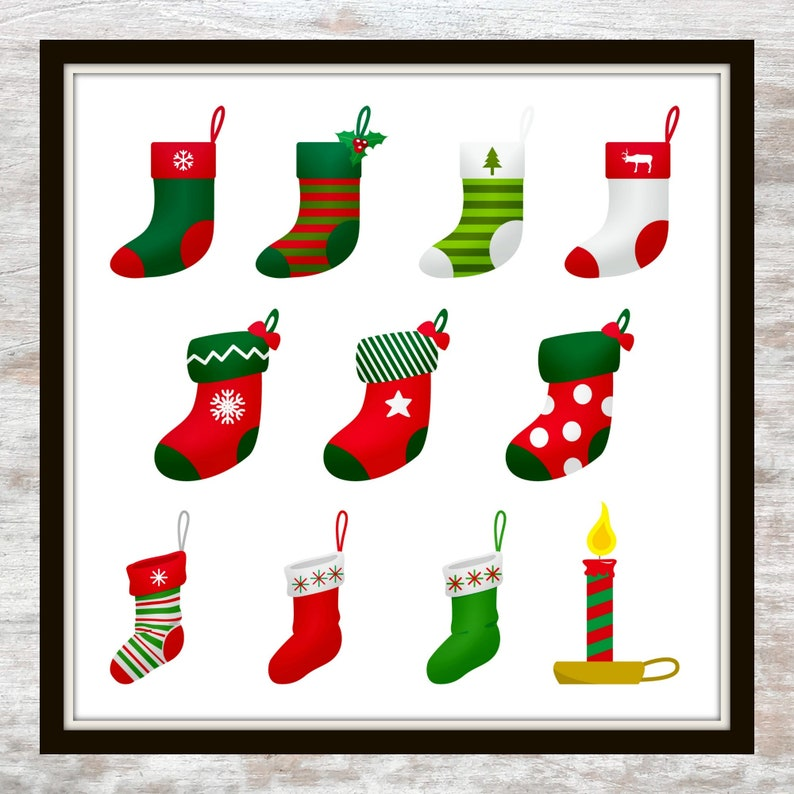 photograph about Christmas Stocking Printable named Xmas Printable, Xmas Stockings Printable, Xmas Candle Printable, Stockings Printable, Xmas Crimson and Inexperienced Stockings