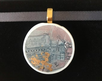 Roman forum necklace