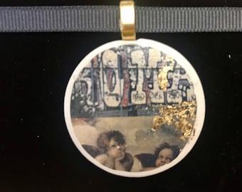 Graffiti Angels necklace