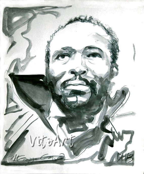 """20/"""" Marvin Gaye poster wall art home decor photo print 16/"""" 24/"""" sizes"""