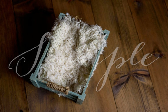 Newborn Baby Digital Backdrop Photo Session Wooden Crate | Etsy