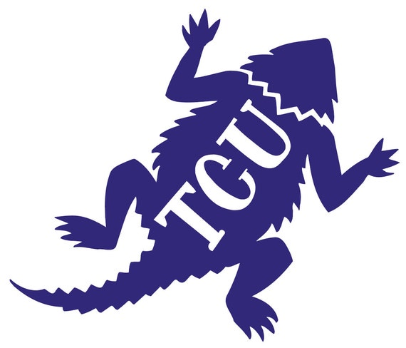 Mom TCU Horned Frogs Transfer Decal