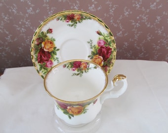 Royal AlbertOld Country Roses Demitasse Cup and Saucer