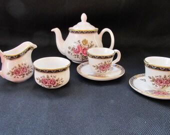 Child's Tea Set Falcon English Bone China