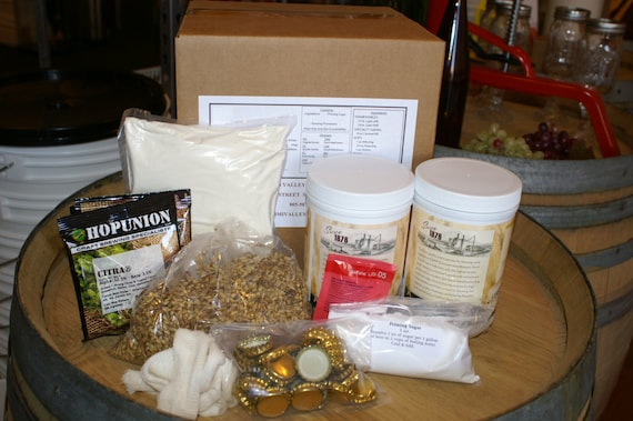 Double IPA Complete Beer Brewing Ingredient Kit- Makes 5 Gallons