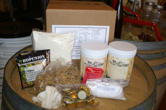 European Dark Lager Complete Beer Brewing Ingredient Kit- Makes 5 Gallons
