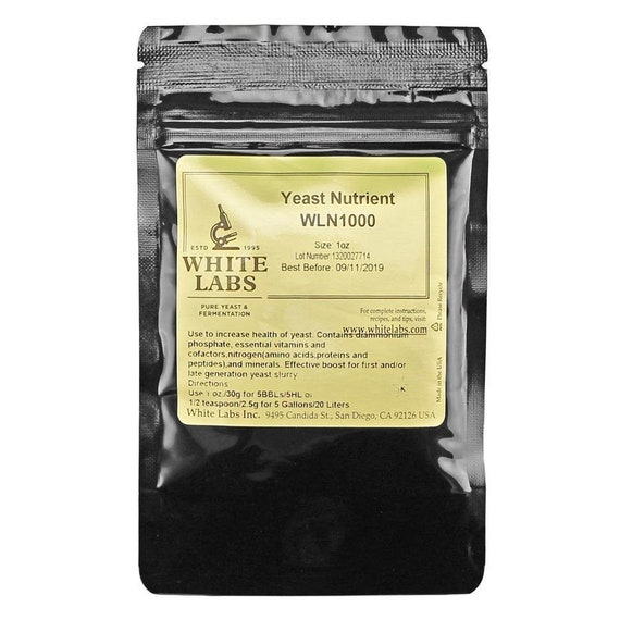 White Labs WLN1000 Yeast Nutrient 1oz Bag For Beer Making
