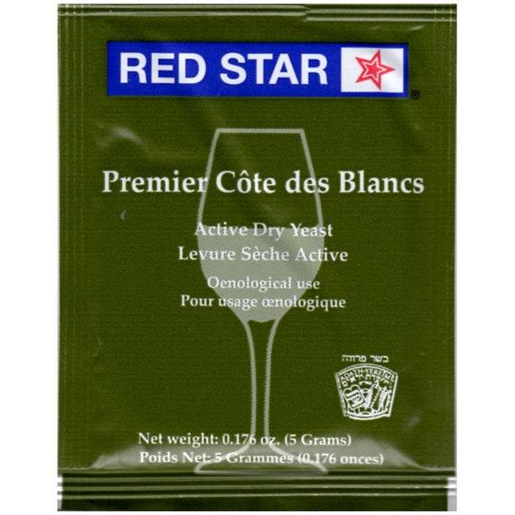 Red Star Premier Cote Des Blancs Dry Wine Yeast