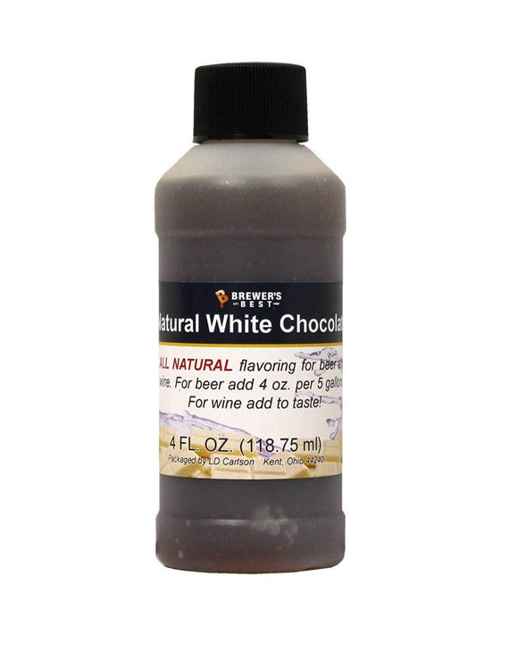 Brewers Best White Chocolate Natural Flavoring For Home Wine Making Beer Making 4 Ounces