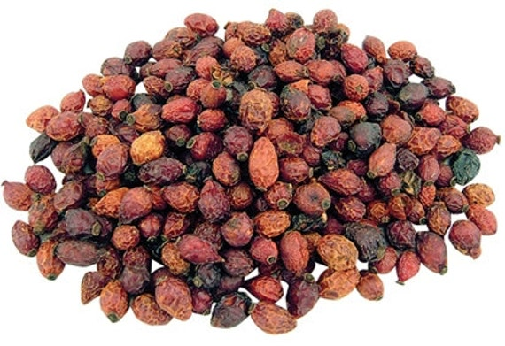 Home Brewing Spices and Herbs- Dried Rose Hips 3 oz Bag