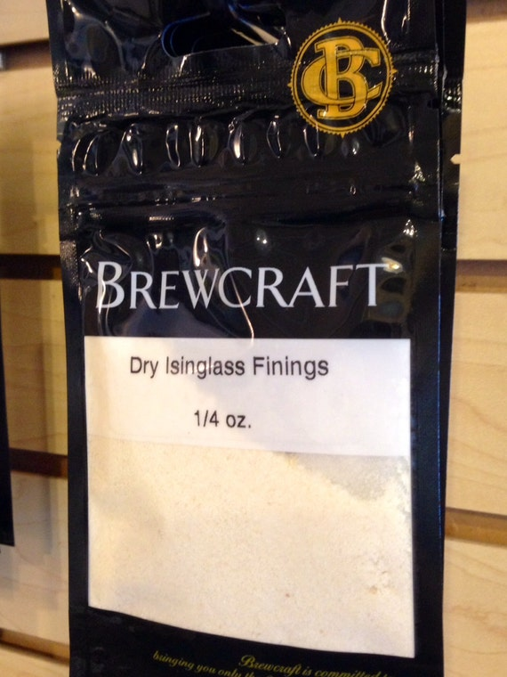 Isinglass Finings For Wine and Beer Making 1/4 oz Bag