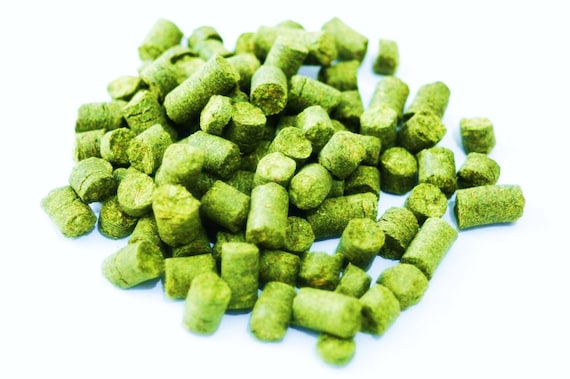 Fresh Domestic HALLERTAU Hop Pellets For Making Home Brewed Craft Beer 1 oz Package
