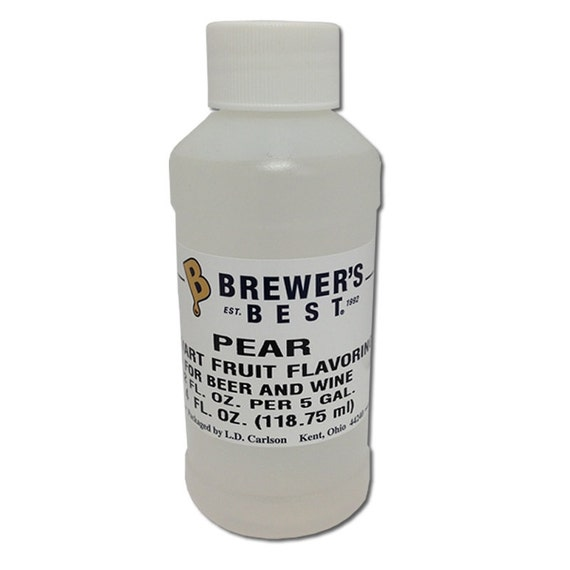 Pear Flavoring Extract For  Home Wine Making Beer Making 4 Ounces