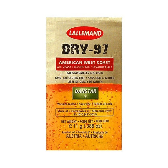 Lallemand Danstar Home Brewing BRY-97 American West Coast Dry Ale Yeast