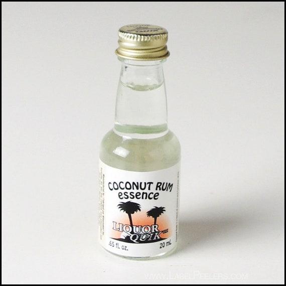 Liquor Quik Coconut Rum Essence Home Distilling Flavoring 20 ml