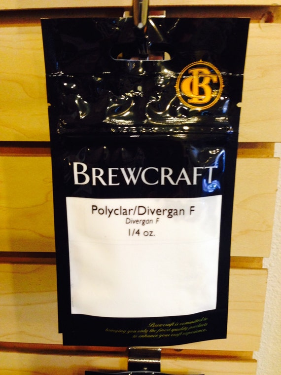 Polyclar Beer and Wine Clarifying Fining 1/4 oz Bag