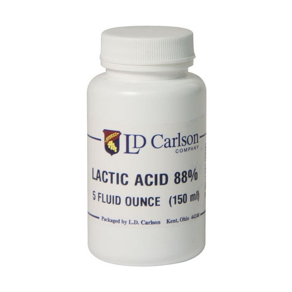 Lactic Acid 88% For Home Brewing 5 Oz