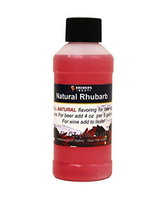 Brewers Best Rhubarb Natural Flavoring For Home Wine Making Beer Making 4 Ounces