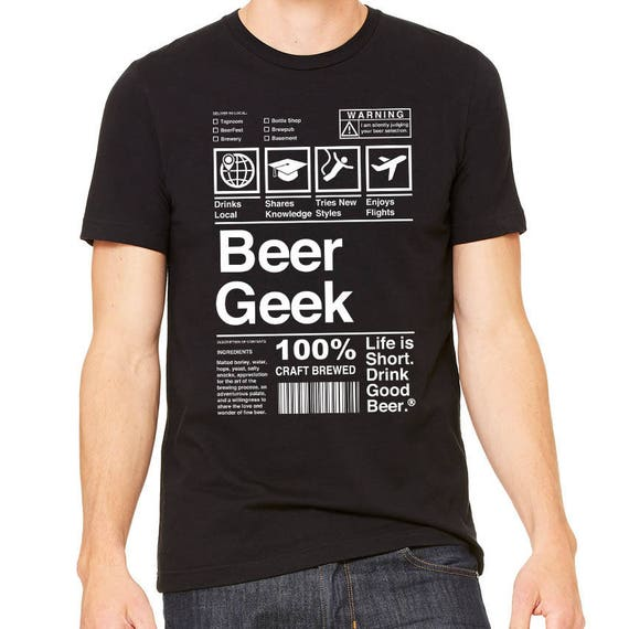 Custom Home Brew Shirts - Get dressed for brew day and show your beer pride - Beer GEEK