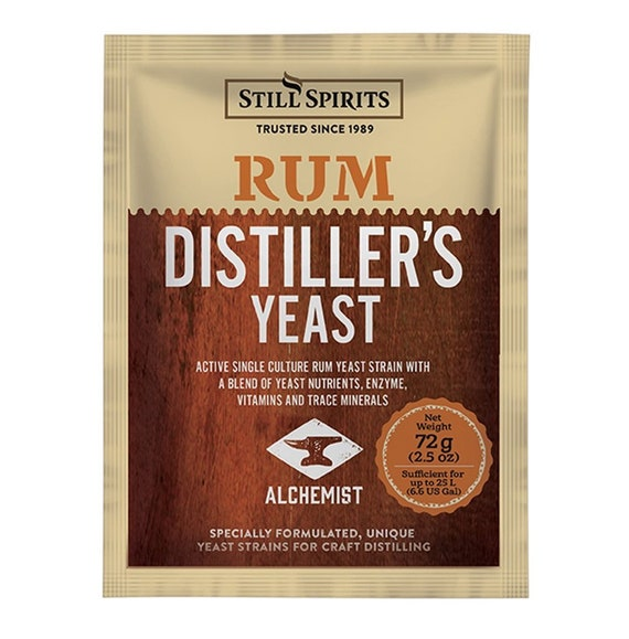 Rum Distilling Yeast For Making Home Crafted Spirits