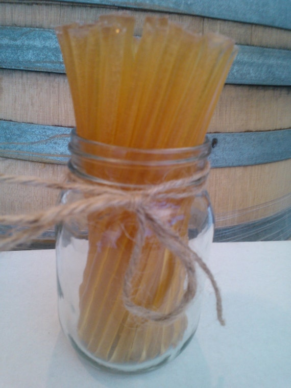All Natural & 100% Raw Wildflower Honey Sticks--55 Sticks