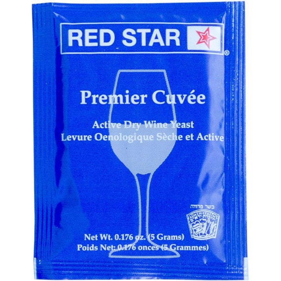 Red Star Premier Cuvee Dry Wine Yeast
