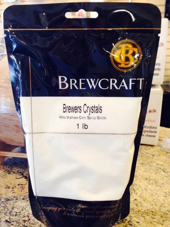 Home Brewing Ingredients- Brewers Crystals- 1 Lb Bag