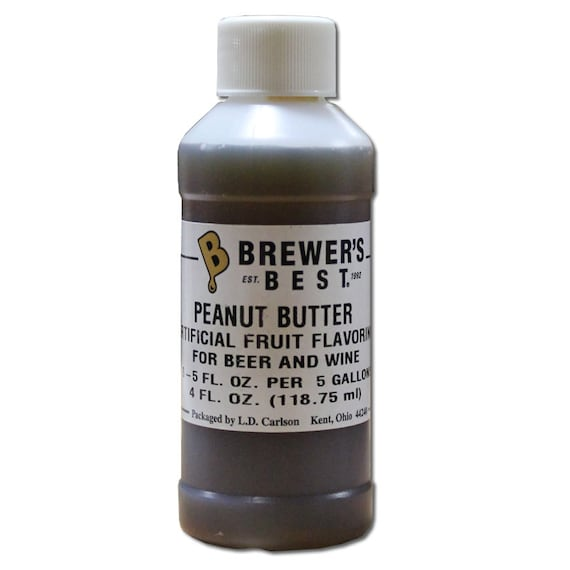 Peanut Butter Flavoring Extract For  Home Wine Making Beer Making 4 Ounces