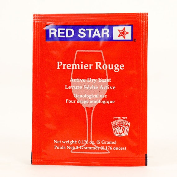 Red Star Premier Rouge Dry Wine Yeast