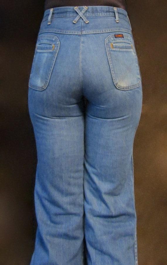 Vintage 1970s Landlubber wide leg jeans--31W 29L//