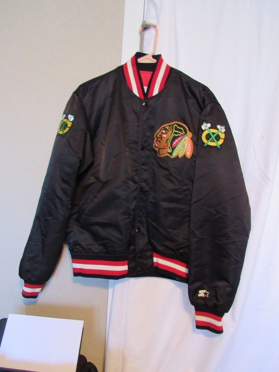 Chicago Blackhawks Hockey Starter Jacket NHL Coat
