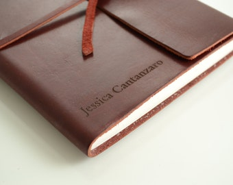 Express 2 Writer's Log Journal personalized Journal Engraved Journal, Diary, Notebook, Personalized Engraved Diary, Genuine Leather