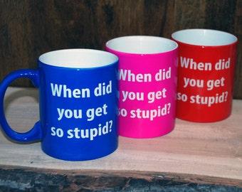 Custom engraved mugs, personalized mugs