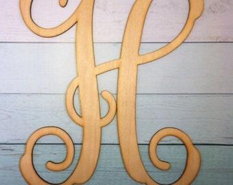 "28"" Single initial monogram"
