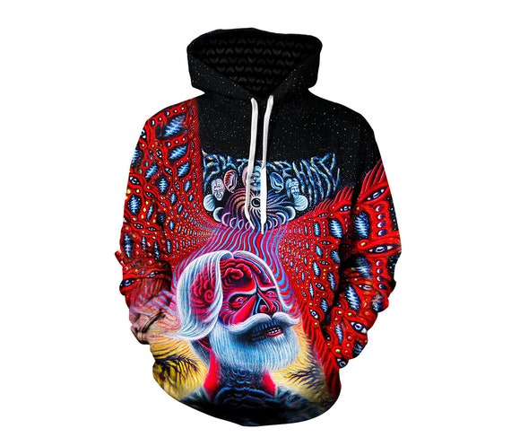 Grateful Dead Hoodie - Trippy Greatful Dead Bertha Hoodies - 60's Hippie Festival Clothes - Art Hoody - Sublimation Sweatshirt 6SDFXbvMD