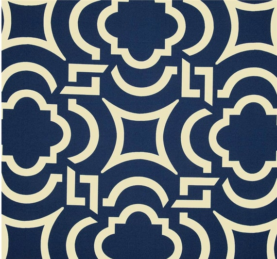 Outdoor Fabric By The Yard Navy Blue Fabric Outdoor Blue