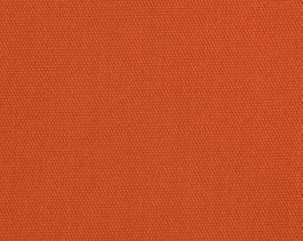 Fabric by the Yard Solid Orange Fabric Curtain Fabric Designer Fabric Carr Chino Twill Solid Orange
