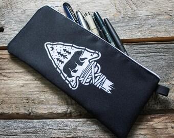 Pencil Case - The Great Black Bear