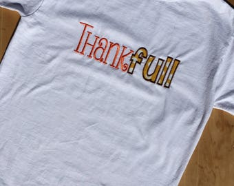 Thankful Thanksgiving shirt