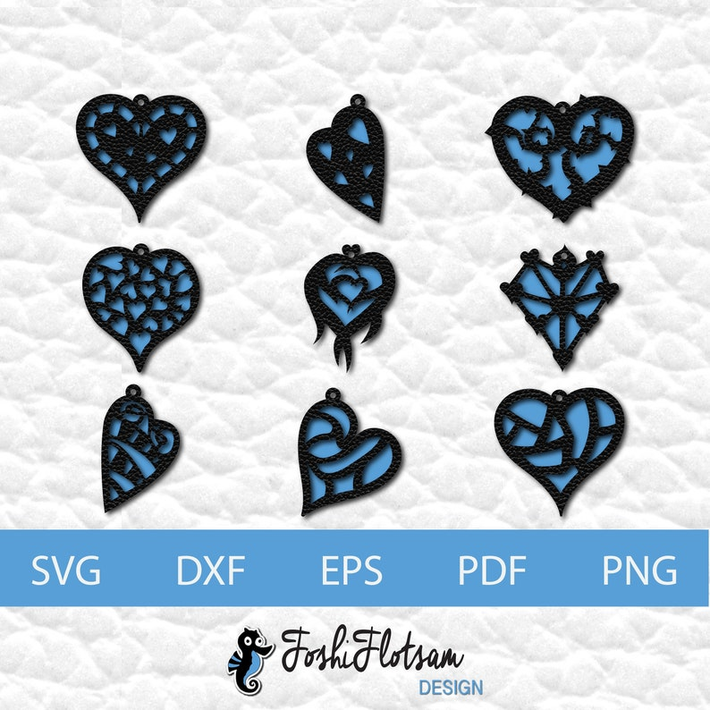 Commercial use Earring SVG cut file Silhouette Cricut laser cut jewelry file Instant download Faux leather earring SVG cut file
